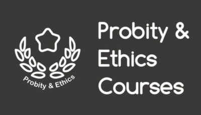 Probity And Ethics Courses